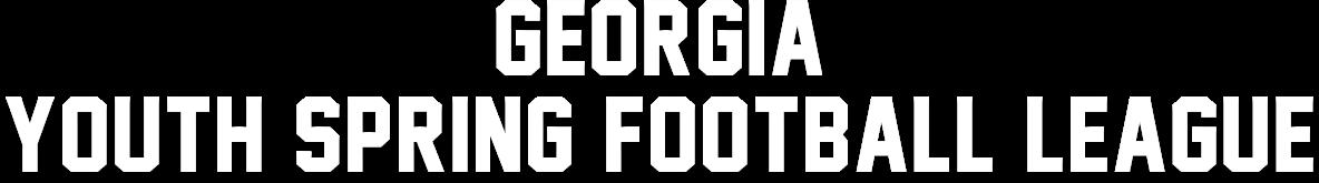 Georgia Youth Spring football league